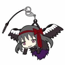 Gekijouban Mahou Shoujo Madoka Magica: Hangyaku no Monogatari - Tsumamare - Akuma Homura mobilfüggő - kulcstartó