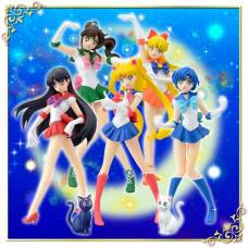 Bishoujo Senshi Sailor Moon - HGIF Sailor Moon Collection szett - teljes szett - 7db figura