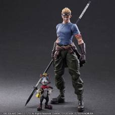 Final Fantasy VII: Advent Children - Play Arts Kai - Cait Sith és Cid Highwind figura