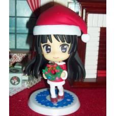 K-ON!! - Ichiban Kuji - Kyun-Chara World SP - Akiyama Mio figura - Santa ver.