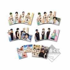 Kuroko no Basket  - Ichiban Kuji -Shuutoku and Touou Gakuen- papír képkeret 4 fényképpel - random