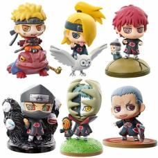 """Naruto Shippuuden Petit Chara Land - Kuchiyose! Naruto to """"Akatsuki"""" Hen Sono Ichi szett - random figura"""