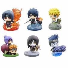 """Naruto Shippuuden Petit Chara Land - Kuchiyose! Naruto to """"Akatsuki"""" Hen Sono Ni szett - random figura"""